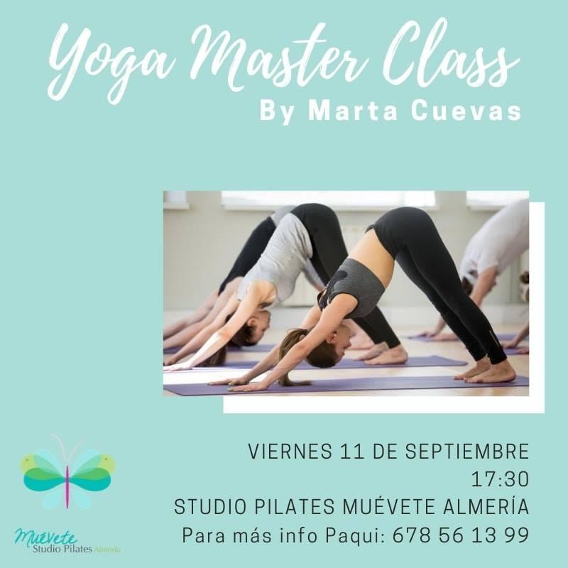 Master Class de Yoga (Presencial)