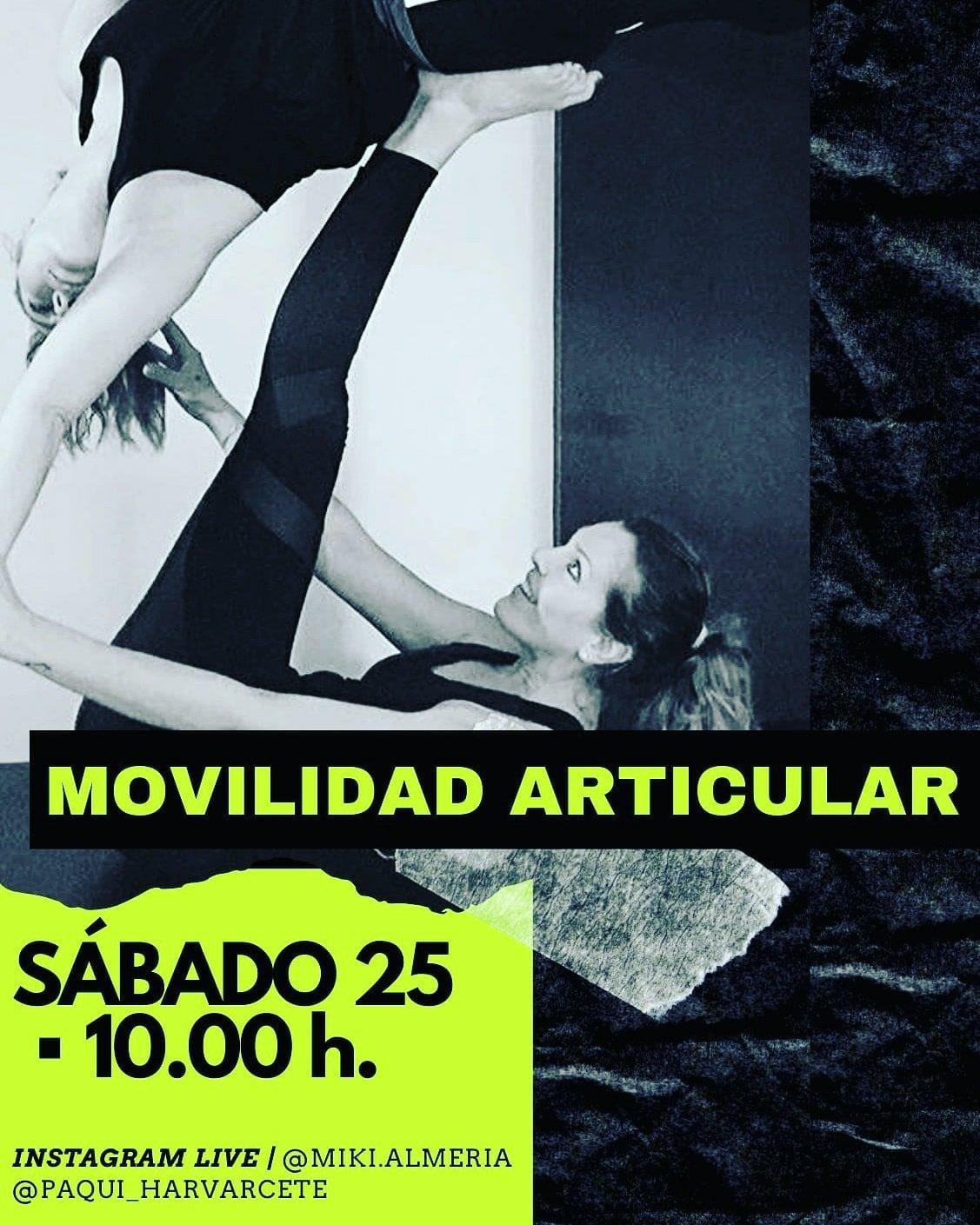 Taller de movilidad articular (On line)
